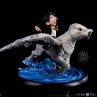 Harry Potter et Buckbeak Q-fig Max Collectible Figure Quantum Mechanix 905119