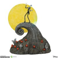Jack sur la colline en spirale figurine Department 56