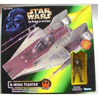 Star Wars Power of the Force - A-Wing Fighter Hasbro