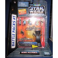 Star Wars Battle Packs #1 Action Fleet MicroMachines Galoob