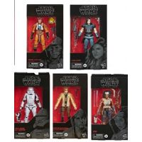 Star Wars The Black Series 6 pouces Série 23 Ensemble de 5 Figurines Hasbro