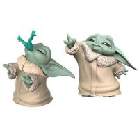Star Wars The Mandalorian (The Child) Baby Bounties Frog & Force 2 1/2-inch 2-pack Mini-Figures Hasbro