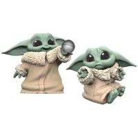 Star Wars The Mandalorian (The Child) Baby Bounties Hold Me & Ball 2 1/2-inch 2-pack Mini-Figures Hasbro
