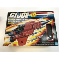 GI Joe 1988 Cobra Stellar Stiletto Canadian Box (Used, Incomplete) Sell is Final Sold in Store Only