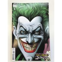 Year of the villain The Joker Retail Variant Cover Brian Bolland DC Comics