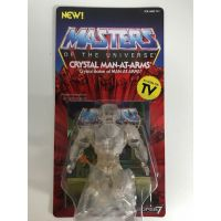 Masters of the Universe Vintage 5.5-inch - Crystal Man-At-Arms Super 7