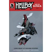 Hellboy Long Night at Goloski Station One-Shot