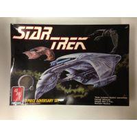 Star Trek Ensemble anniversaire de 3 vaisseaux modèle à coller AMT ERTL 6858
