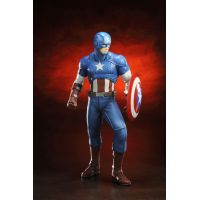 Marvel Comics Avengers Now Captain America Artfx Statue Kotobukiya 7 1/2  inches 1:10 Scale