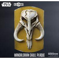 Mandalorian Skull Plaque Statue by Regal Robot 904005