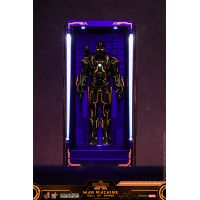 Neon Tech War Machine Hall of Armor Diorama Hot Toys 905462Neon Tech War Machine Hall of Armor Diorama Hot Toys 905462