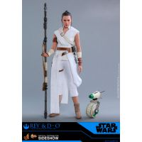 Rey et D-O figurines 1:6 Hot Toys 905520