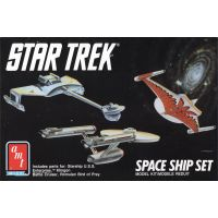 Star Trek Space Ship Set modèle à coller AMT ERTL 6677