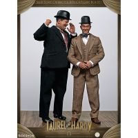 Stan Laurel et Oliver Hardy (costumes classiques) ensemble de 2 figurines 1:6 BIG Chief Studios 905361