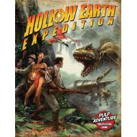 Hollow Earth Expedition Pulp Adventure Jeu de rôle Exile Game Studio 252 pages (anglais) ISBN 1-4243-0829-1