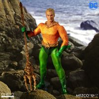 One-12 DC Collective Aquaman Mezco ToyzOne-12 DC Collective Aquaman Mezco ToyzOne-12 DC Collective Aquaman Mezco Toyz