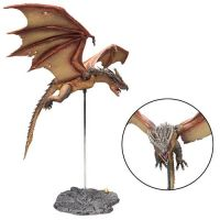 Harry Potter - Hungarian Horntail Deluxe Figure (9-inch with stand) McFarlane Toys