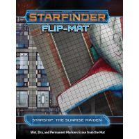 Starfinder Flip-mat Starship: The Sunrise Maiden Paizo ISBN 978-1-64078-035-4