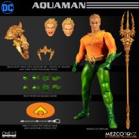 One-12 DC Collective Aquaman Mezco Toyz