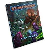 Starfinder Alien Archive livre (anglais) 160 pages Paizo ISBN 978-1-60125-975-2