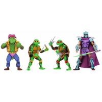 TMNT: Turtles In Time Série 2 ensemble de figurines 7 po NECA