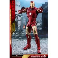 Iron Man Mark III REGULAR Version Série Quarter Scale figurine échelle 1:4 Hot Toys 903411