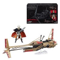 Star Wars Solo: A Star Wars Story The Black Series 6-Inch - Enfys Nest Swoop Bike with Enfys Nest Figure
