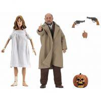 Halloween 2 Doctor Loomis et Laurie Strode ensemble de 2 figurines 8 po NECA