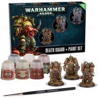 Warhammer 40k Death guard + paint set (60-27-60)