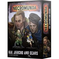 Necromunda Kal Jericho and Scabs 300-38