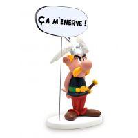 Astérix Statue Astérix Ç'a M'Énerve 15cm Plastoy