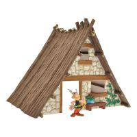 Astérix Coffret Maison d'Astérix avec Une Figurine Plastoy