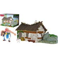 Astérix Coffret Maison d'Obélix avec Deux Figurines Plastoy