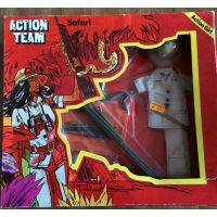 Action Team Safari Action Girl (Allemagne) Vintage Hasbro