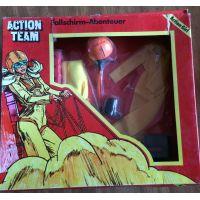 Action Team Fallschirm-Abenteuer (parachutist) Action Girl Vintage Hasbro