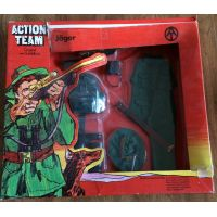 Action Team Jäger (chasseur) Vintage Hasbro