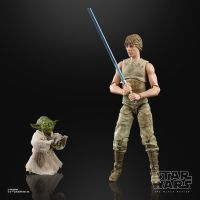 Star Wars Black Series Empire Strikes Back 40e Anniversaire 6 pouces Luke Skywalker and Yoda (Jedi Training) Hasbro