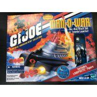 GI Joe (2000) Man-O-War One-Man Attack Sub w/Torpedo launcher incluant figurine Lampreys Hasbro