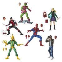 Marvel Legends Spider-Man Retro Wave 1 Set of 6 Figures Hasbro