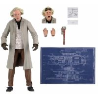 Back to the Future Doc Emmett Brown Ultimate 7-Inch Scale Figure NECA 53614