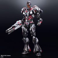 DC Comics No9 Cyborg Action figure PlayArts Square Enix