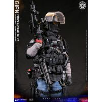 Groupe d'intervention GIPN Marseille Police française figurine 1:6 DamToys 78076
