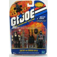 GI Joe TRAH Zartan & Shadow Viper (2001) Hasbro
