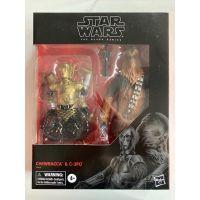 Star Wars Black Series 6-inch Chewbacca & C-3PO Exclusive Hasbro