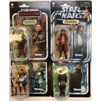 Star Wars The Vintage Collection Série 12 Ensemble de 4 Figurines (Clone Fives, Chirrut Imwe, Luke Skywalker Jedi ROTJ, Hondo Ohnaka) Hasbro