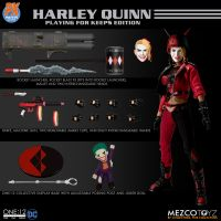 One-12 Collective DC Harley Quinn Playing For Keeps Edition PX Exclusive Mezco Toyz