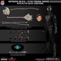 ​One-12 Collective Marvel PX Spider-Man Stealth Suit Mezco Toyz