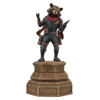 ​​Marvel Gallery Avengers Endgame Rocket Raccoon Statue PVC Diorama 7-inch Diamond Select Toys