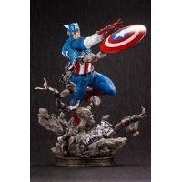 Captain America 14-inch Statue Kotobukiya 907153