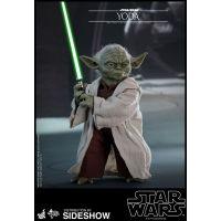 Star Wars Épisode II: L'Attaque des Clones Yoda Série Movie Masterpiece figurine 1:6 Hot Toys 903656